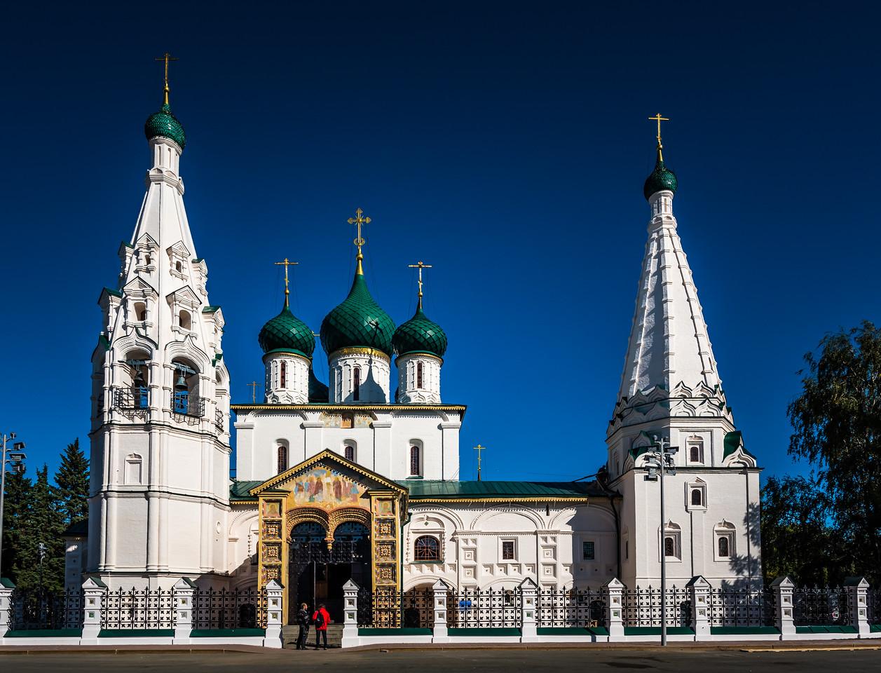 Church of Elijah the Prophet - Yaroslavl circa ~ 1647