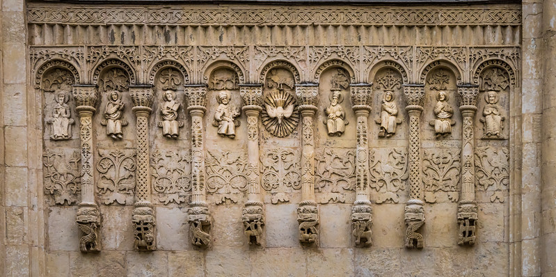 Carvings on Demetrius Cathedral, circa 1197 - Vladimir