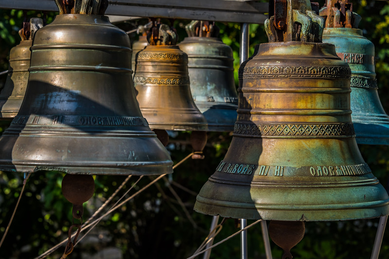 Bells at Spassky Monastery