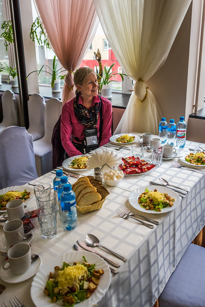 Lunch at Hotel Zarya in Vladimir