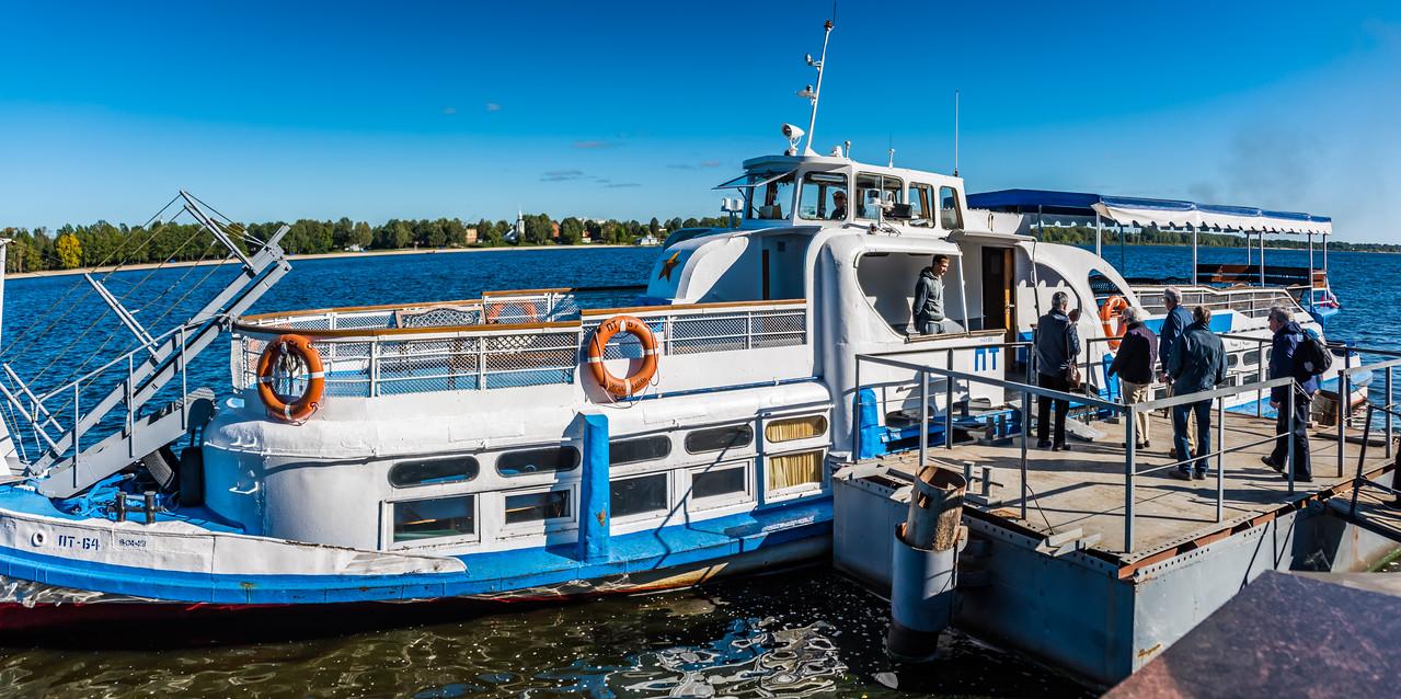 Boat Ride on the Historic Volga River - Yaroslavl