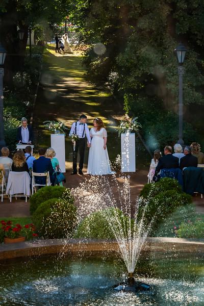 A Wedding in the Park - Yaroslavl