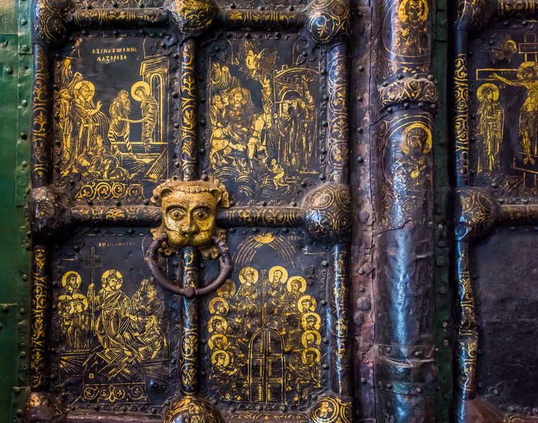 Door at Nativity of the Virgin Cathedral - Suzdal