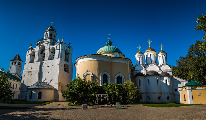 Spassky Monastery - Yaroslavl Russia. circa ~ 1516