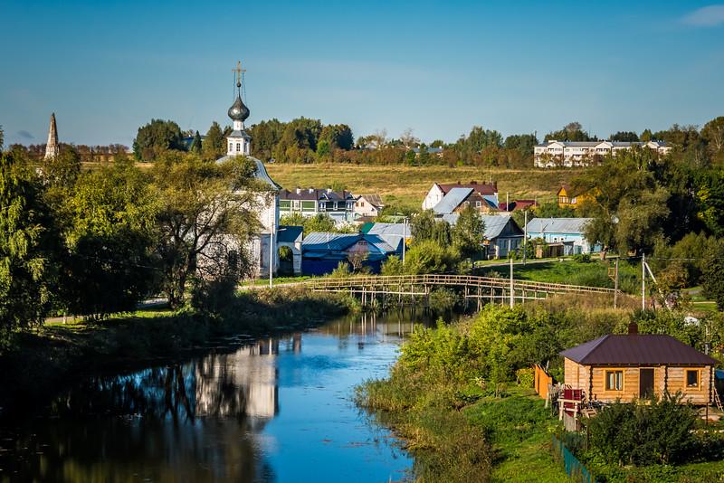 River Reka Kamenka, Suzdal