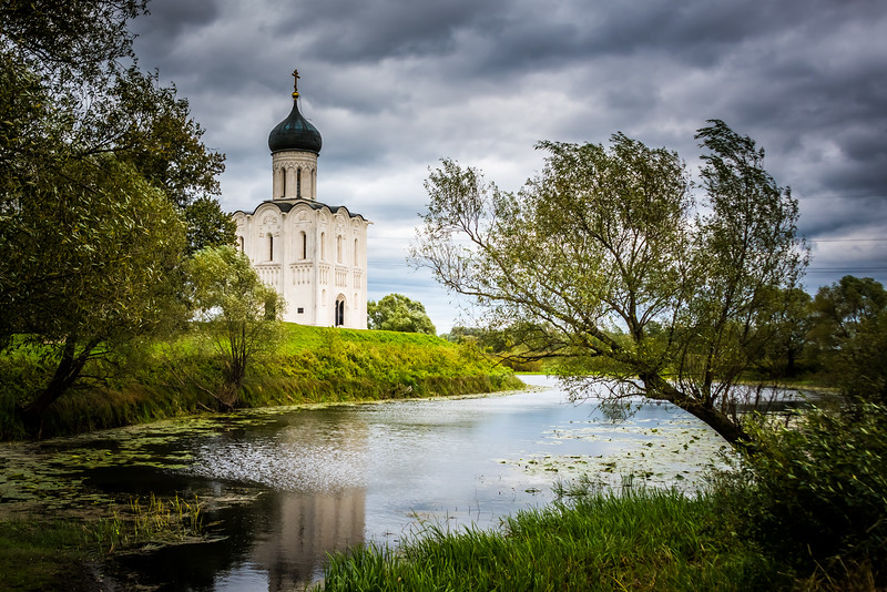 Church of the Intercession - circa 1100s --Bogolyubovo, Russia