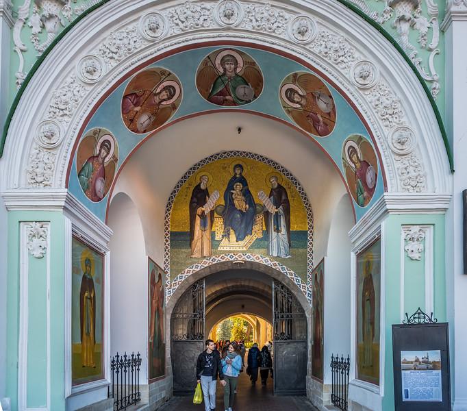 Monastery Trinity St. Sergius Lavra at Sergiev Posad