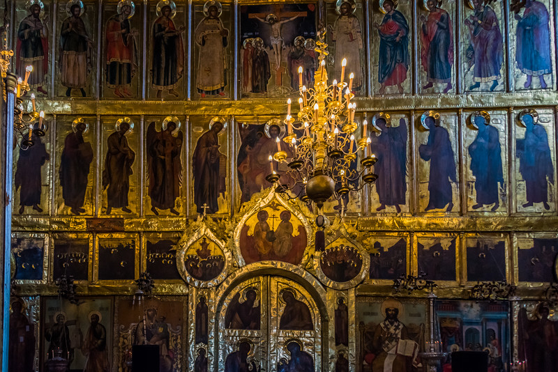 Interior Nativity of the Virgin Cathedral - Suzdal