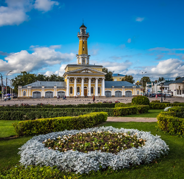 Fire Tower on Susanna Square  - Kostroma