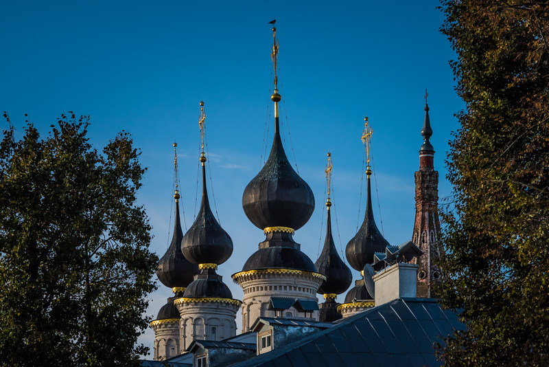 Domes of Antipievskaya church - Suzdal