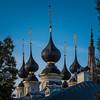Domes of Antipievskaya church - Suzdal