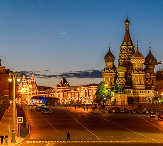 Red Square and St Basil's Cathedral