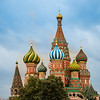 Onion Domes - St Basil's Cathedral - circa ~1555