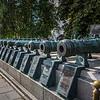 Russian Field Cannons in Kremlin