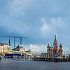 Red Square with GUM, St. Basils, &  the Kremlin