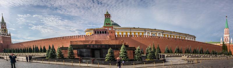 Lenin's Tomb  & Kremlin Wall on Red Square