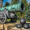 Tsar Cannon - in Kremlin - circa 1586