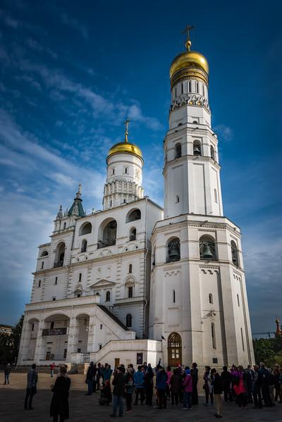 Ivan the Great Bell Tower inside Kremlin - circa 1508 - 266 ft tall