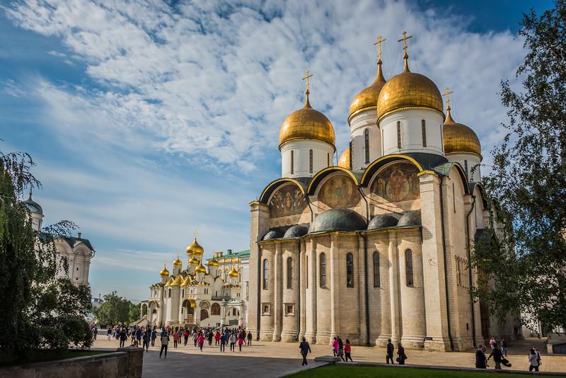 Dormition Cathedral in Kremlin - circa 1475