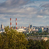 Scenic View of Moscow from University