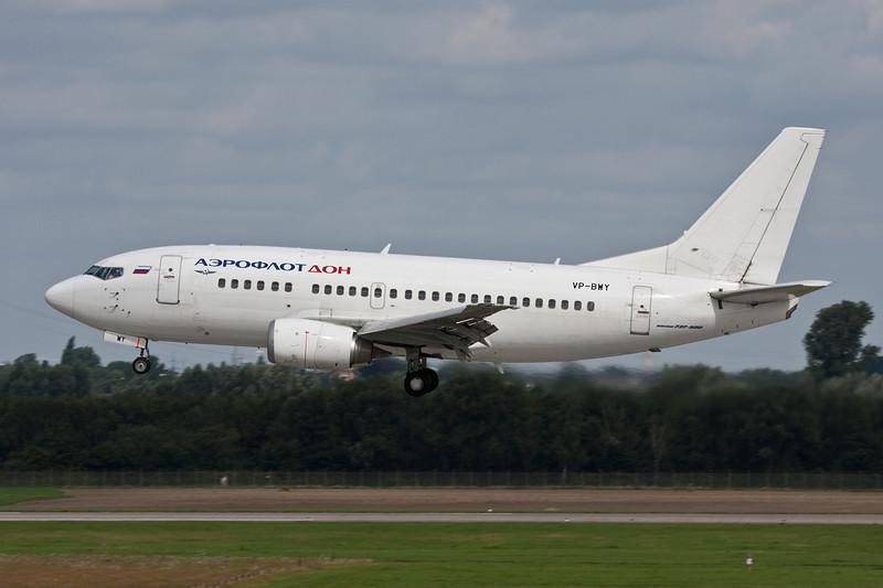 "VP-BWY Boeing 737-528 ""Aeroflot Don"" c/n 27305 Dusseldorf/EDDL/DUS 03-08-08"