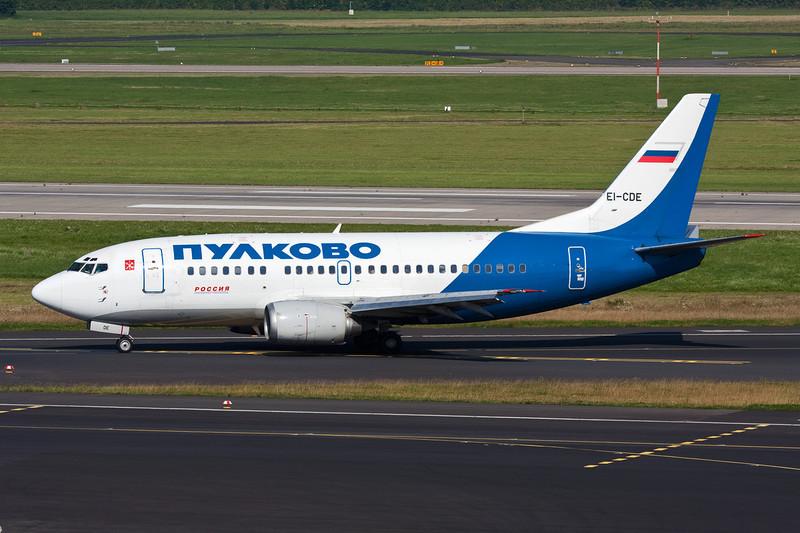 """EI-CDE Boeing 737-548 """"Pulkovo Aviation"""" c/n 25115 Dusseldorf/EDDL/DUS 24-08-08"""