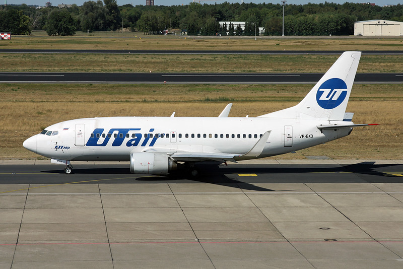 "VP-BXQ Boeing 737-524 ""UT Air"" c/n 27315 Berlin-Tegel/EDDT/TXL 22-08-18"