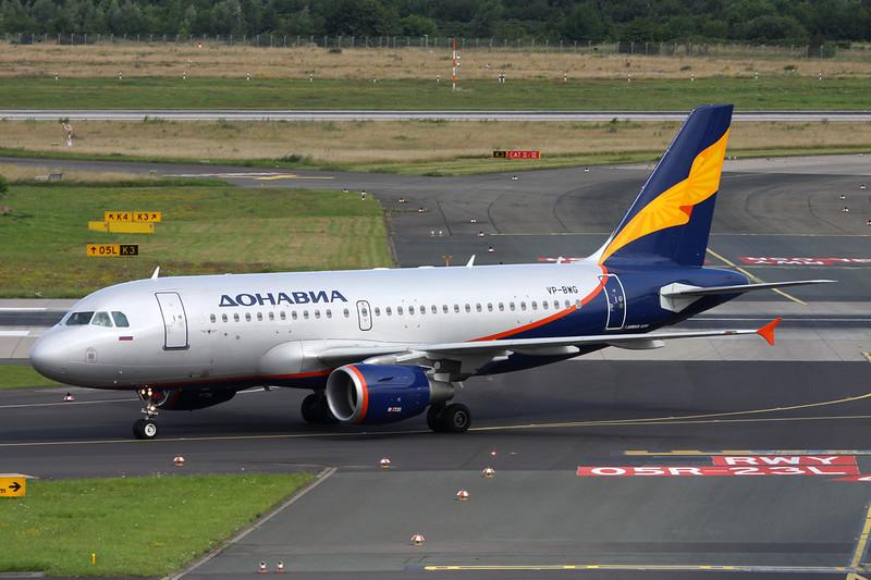 """VP-BWG Airbus A319-111 """"Rossiya Airlines"""" c/n 2093 Dusseldorf/EDDL/DUS 11-07-16 """"Donavia"""""""