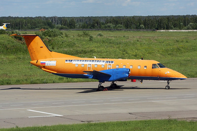 """Unmarked Embraer EMB-120 Brasilia """"Rusline"""" c/n unknown Moscow-Domodedovo/UUDD/DME 27-06-17"""