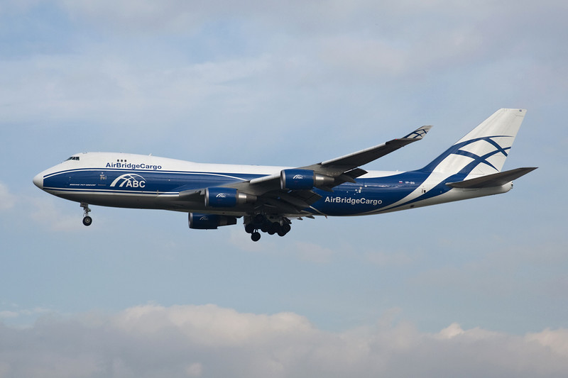 "VP-BIG Boeing 747-46NEF ""Air Bridge Cargo"" c/n 35420 Frankfurt/EDDF/FRA 14-10-08"
