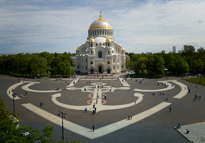 The Naval Cathedral, Kronstadt