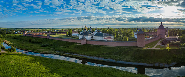Monastery of St Euthymius (amongst the five largest in Russia)