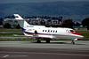 RA-02800 Hawker-Siddley 125-700B c/n 257007 Glasgow/EGPF/GLA 03-08-95 (35mm slide)