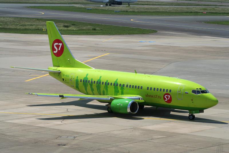"""VP-BSX Boeing 737-522 """"S7 Airlines"""" c/n 26699 Dusseldorf/EDDL/DUS 10-06-06"""