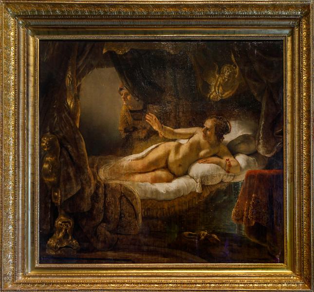 "Rembrandt's ""Danae"", Hermitage"