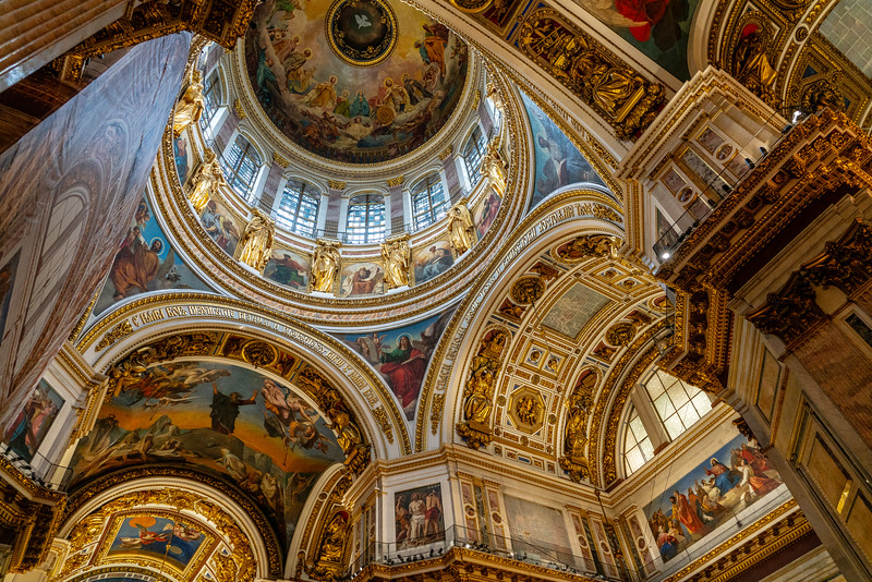 Inside St Isaac's Cathedral