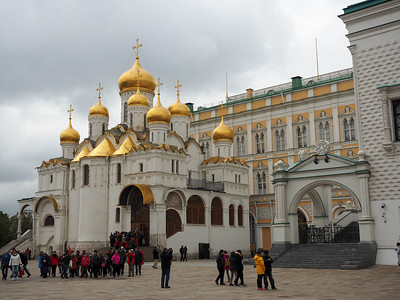 Cathedral of the Annunciation in the Kremlin in Moscow