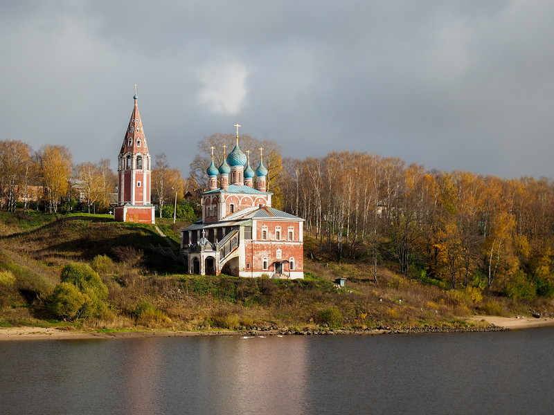 Along the Volga River in Yaroslavl