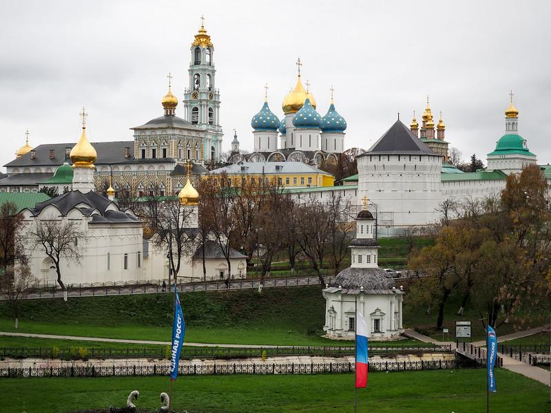 Troitse-Sergiev Monastery in Sergiev Posad, Russia