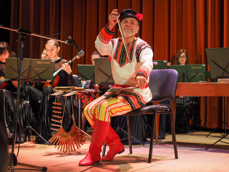 Russian folk music in Moscow