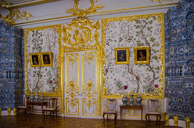 Catherine's Palace in Tsarskoe Selo.
