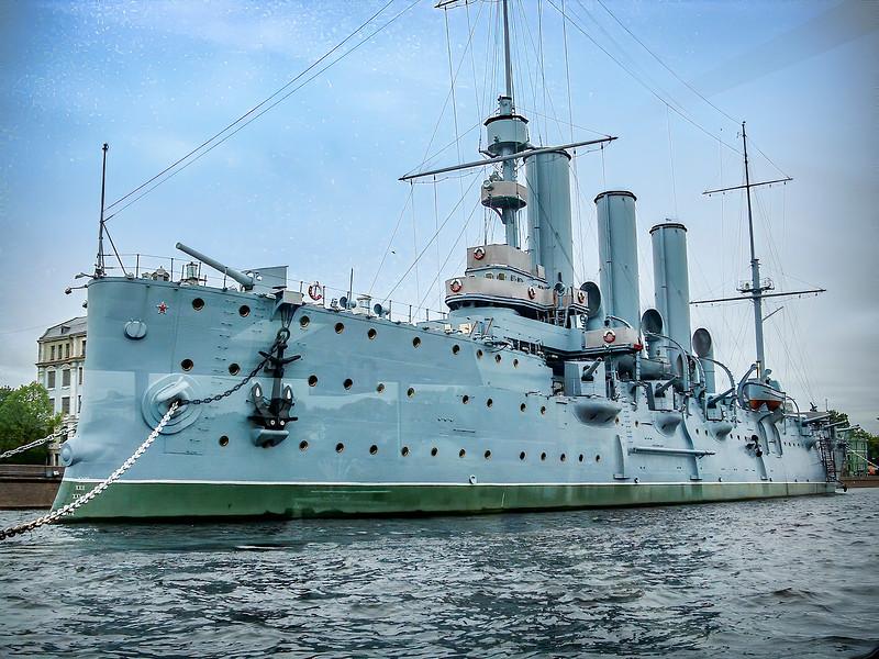St. Petersburg - Battleship Aurora
