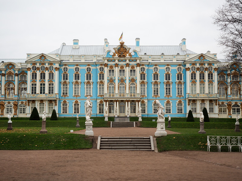 Catherine Palace in Pushkin, Russia