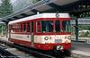 Unit 602 of the Martigny - Chatelard - Chamonix Railway, photographed at Chamonix (F) in August 1988.