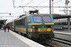 SNCB 2123 with M4 stock at Brugge on 15th March 2008.