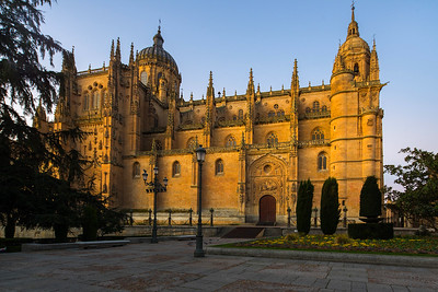 Cathedral Nueva at dawn, Salamanca, Spain