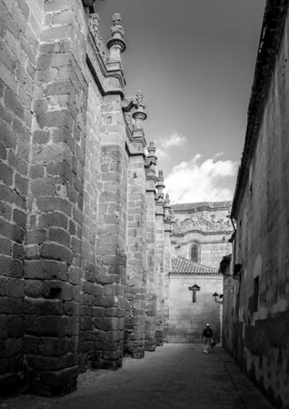 Alley of the Cross, Avila Cathedral