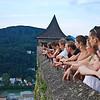 Atop Hohensalzburg Fortress