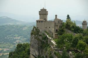 One of the three towers of San Marino