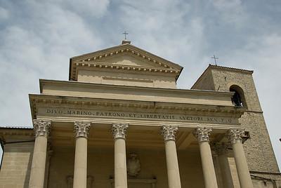 Basilica di San Marino in Republic of San Marino
